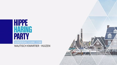 social media campagne hippe haringparty huizen