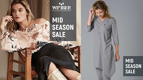 social media campagne wimber.nl mid summer sale